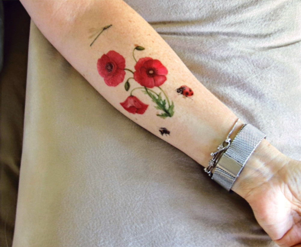 Flower Ink For a Flower Lover - Me!