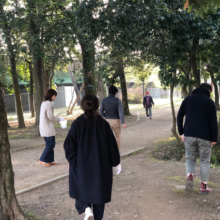 江津湖清掃活動