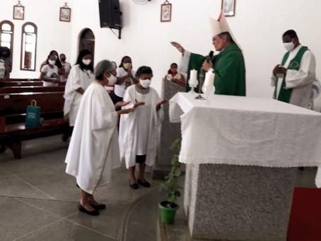 Dom Tourinho celebrou missa de envio das Irmãs Franciscanas Marianas Missionárias, em Cruz das Almas