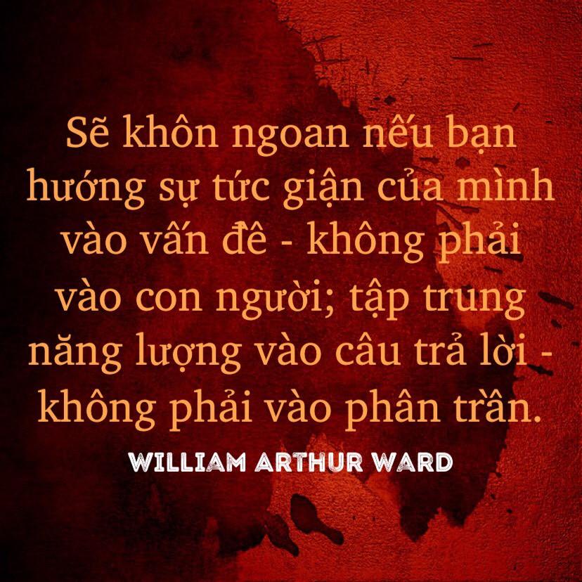 Tập trung năng lượng vào câu trả lời - William Arthur Ward