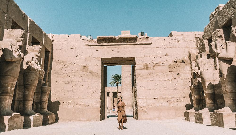karnak temple complex egypt luxor travel