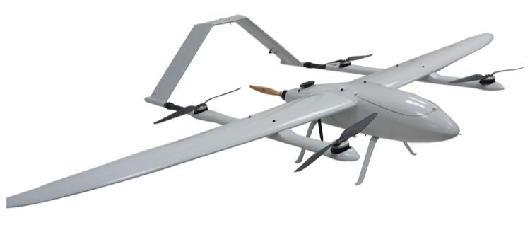 Baby Shark Quadplane VTOL