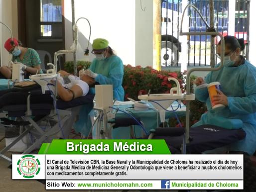 BRIGADA MÉDICA REALIZADA POR LA FUERZA NAVAL DE HONDURAS Y CBN LATINO.