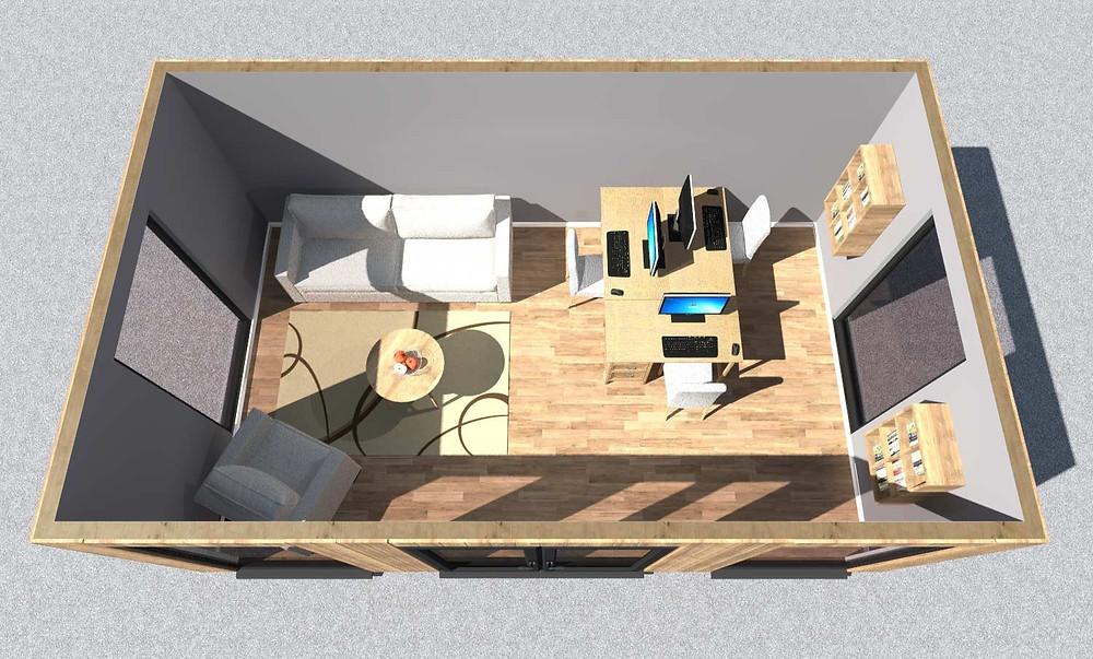 Garden...office, gym, studio, spa? You choose!