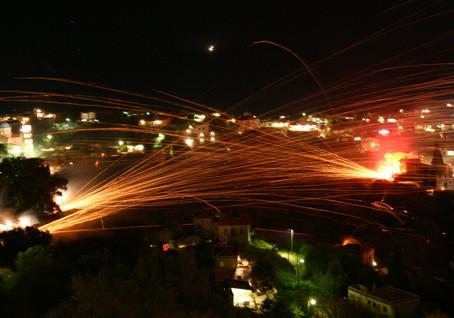 Ρουκετοπόλεμος στη Χίο!!!