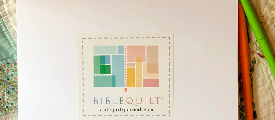 What is a Bible Quilt Journal?