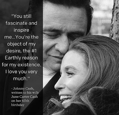 """""""İyi ki Doğdun Prenses"""" Johnny Cash'in Eşine Yazdığı Ve Tüm Zamanların En İyisi Seçilen Aşk Mektubu:"""