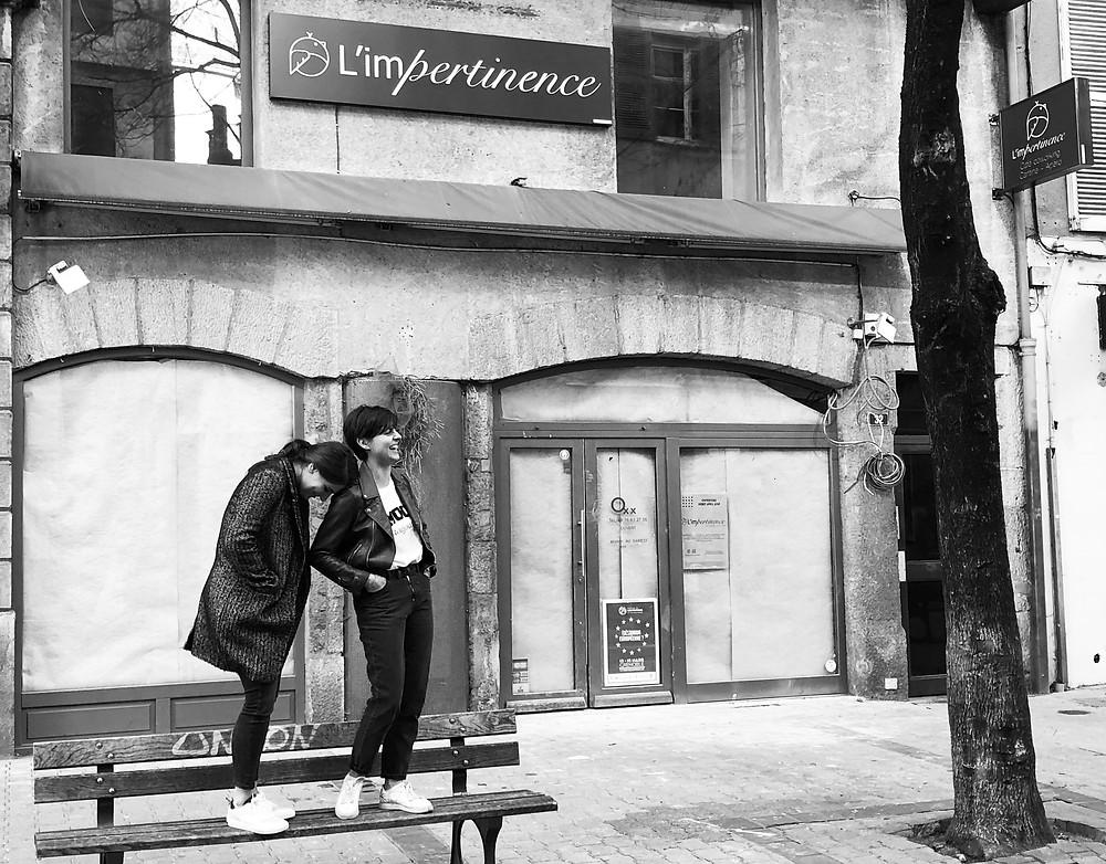 L'Impertinence à Grenoble café coworking restaurant