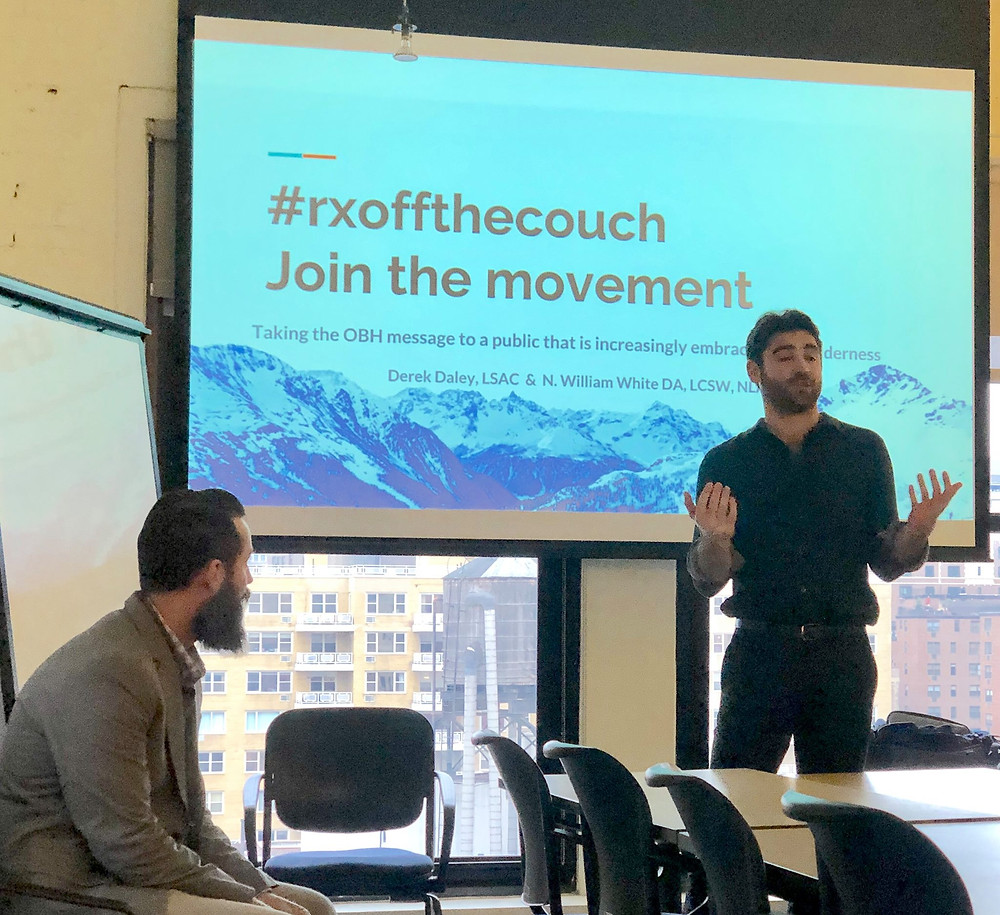 #RXoffthecouch Join The Movement with Daniel Rogers at NYU