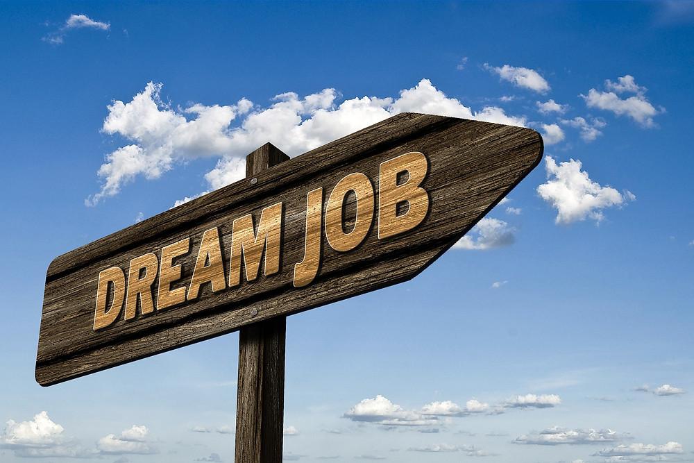 job, bewerbung, schild, beruf