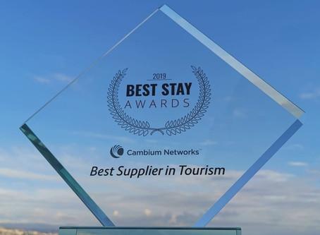 Cambium Networks giành giải thưởng Nhà cung cấp du lịch tốt nhất 2019