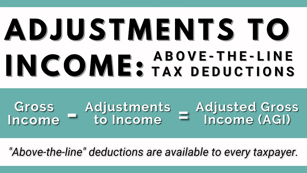Adjustments to Income: Above-the-Line Tax Deductions