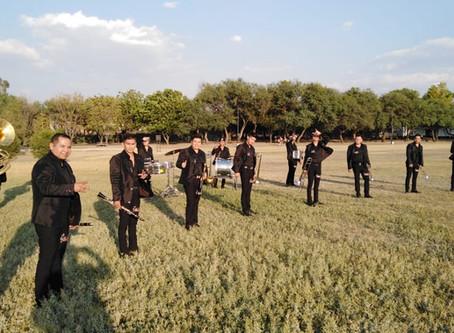 Banda Sinai grabó su video en locación icónica de León Gto