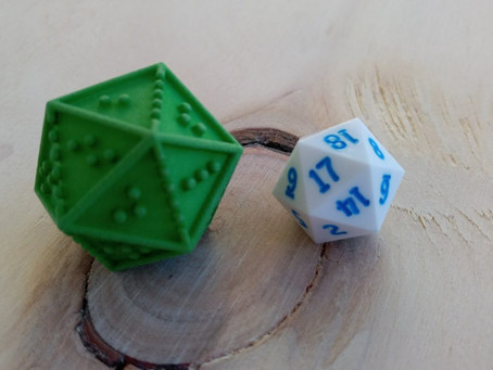 Article - Helping the Visually Impaired with DOTS RPG Dice