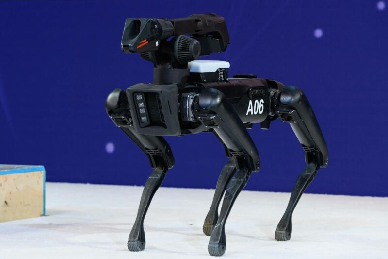 A06 Robot used by police in New York.