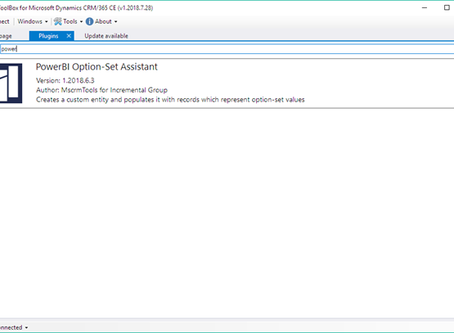Getting option set data in Power BI from Dynamics 365