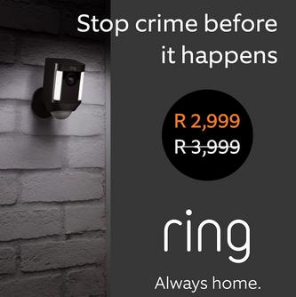 Ring Africa Announces Black Friday Specials on Smart Security Cameras & Doorbells.