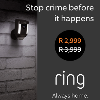 Ring Africa Announces Black Friday Specials on Smart Security Cameras & Doorbells.