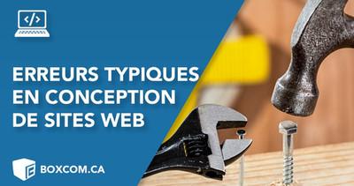 Créer un site | Les erreurs typiques de conception Web, évitez-les pour créer un site efficace.