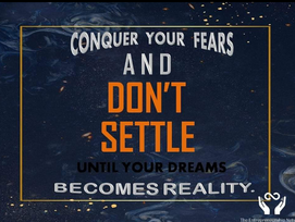 ## DON'T FEAR BE BOLD ##