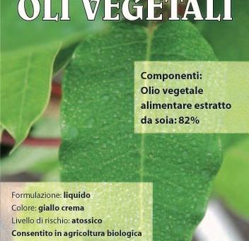 Oli vegetali:corroborante
