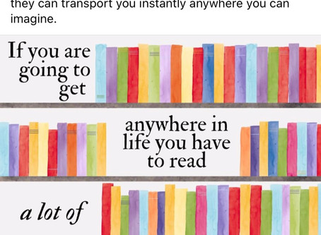 Reading Can Get You Where You Want to Go!
