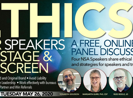 Ethics for stage and screen -- panel discussion