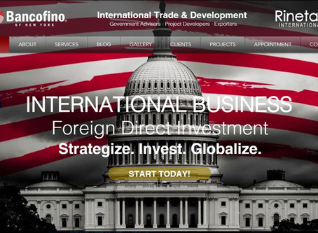 Bancofino Rineta's Website Open!