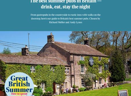 Peak District Pubs in The Times Best British Summer Pubs