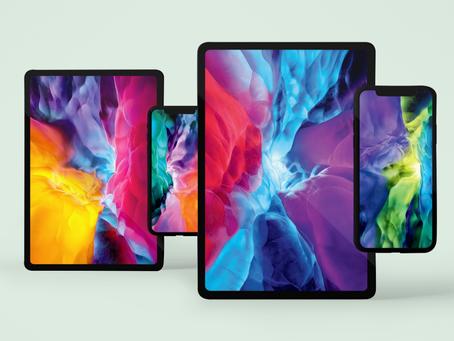 Baixe os wallpapers dos novos iPads Pro para o seu iPad, iPhone ou Mac