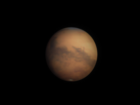 Mars with Big Bertha