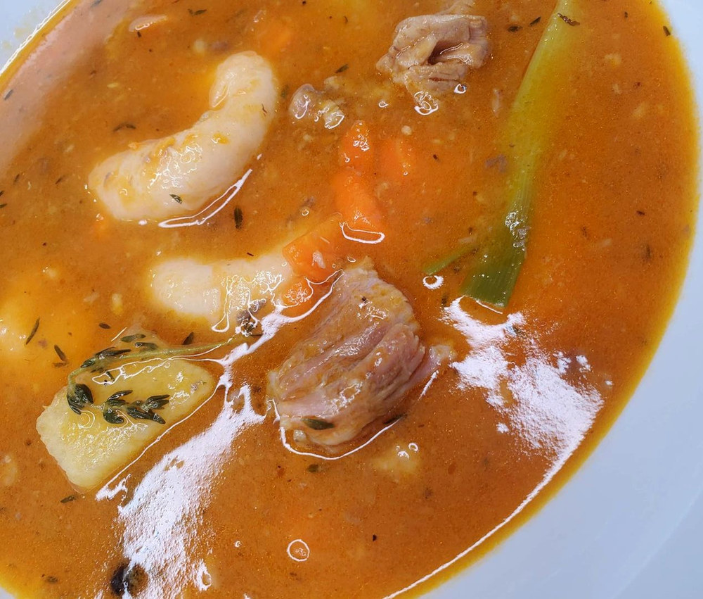 jamaican style beef soup