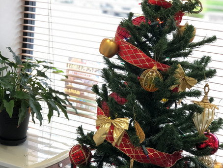 アージェのクリスマス装飾