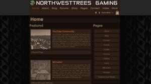 NorthWestTees Gaming home page.