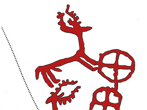 Saulė ant elnio ragų prieš 4000 metų