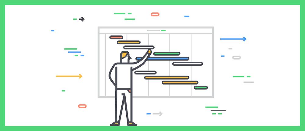 sử dụng gantt chart để quản lý dự án
