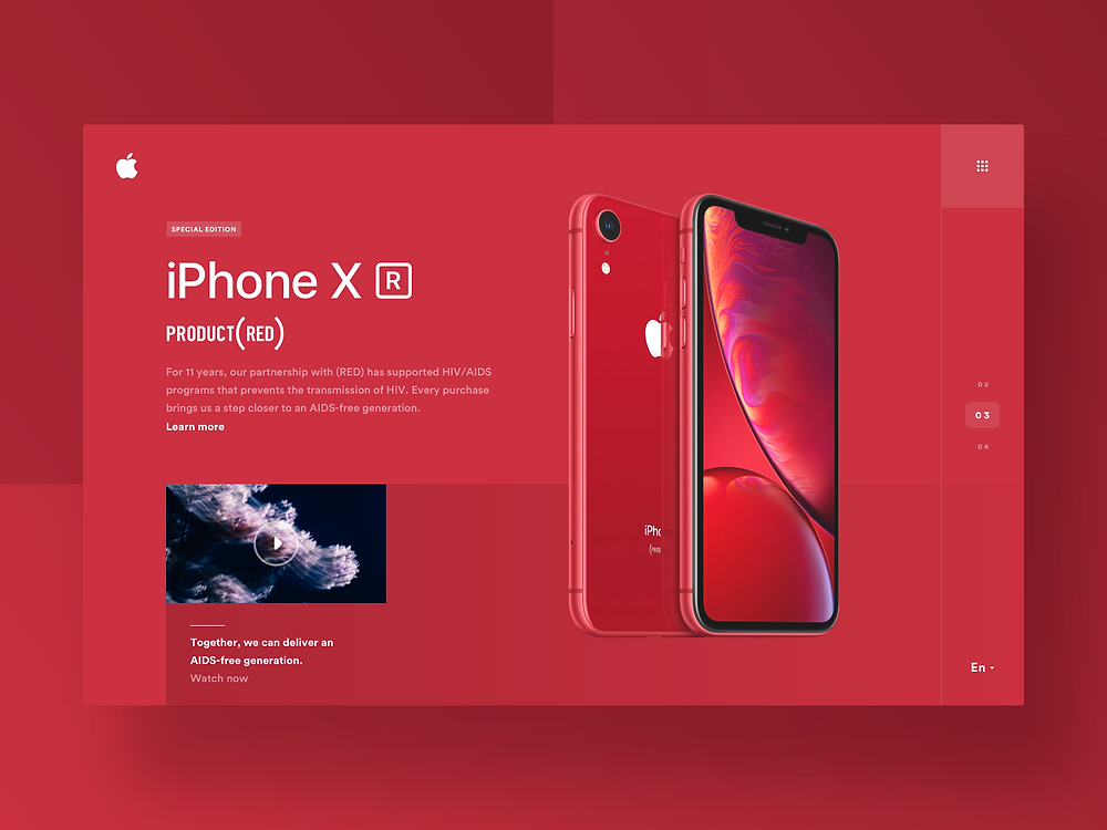Website for iPhone 🔴 (Red)