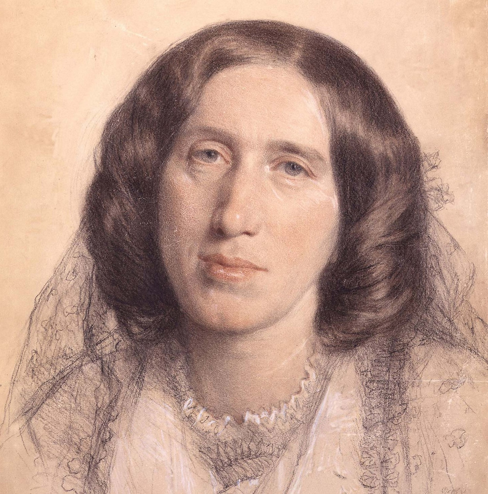 "A portrait of George Eliot - the author of ""Middlemarch"".  Part of the Qwiz5 series by Qwiz Quizbowl Camp, written to help quiz bowl teams power more tossups!"
