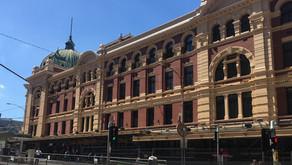 Scaffolding Removal Reveals Restored Flinders Street Station