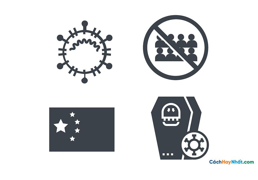 Free File Virus Corona COVID-19 SARS-COV-2 icons Vector PDF PNG 04