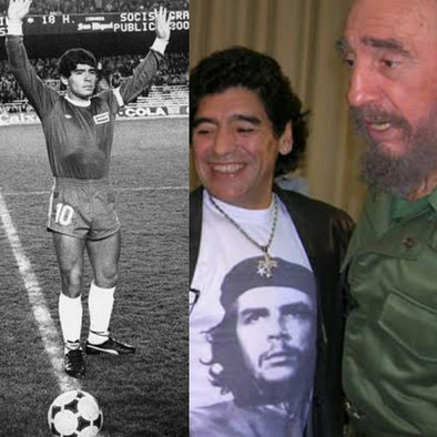 Morre Maradona.