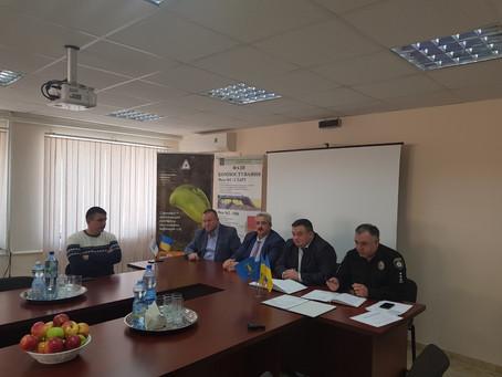 Керівник поліції Київщини Дмитро Ценов зустрівся з громадою Сквирського району.
