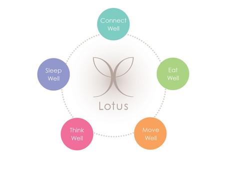 Lotus 5 Pillars of Health