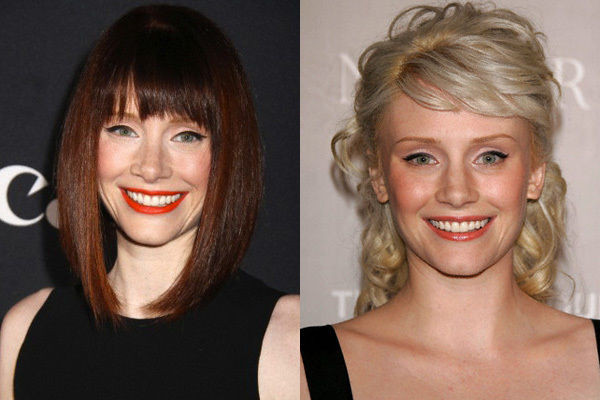 Brunette to blonde
