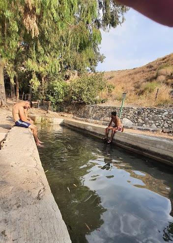 טיול מעיינות ברמת הגולן לעין שוירח בדרום רמת הגולן
