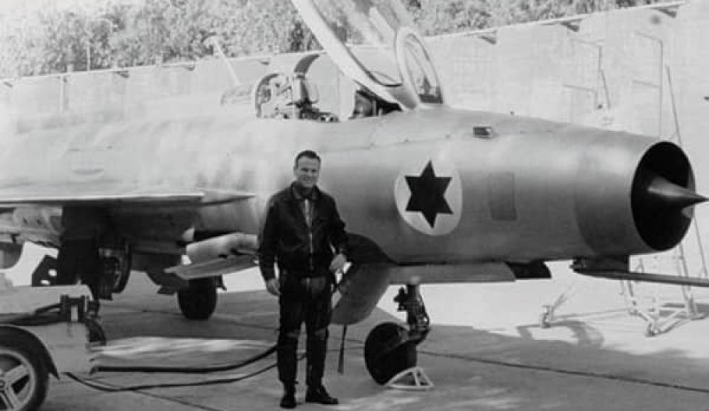 Полковник Дани Шапира и угнанный МиГ-21