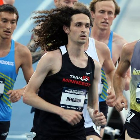 Kevin Lewis, Joel Reichow, Danny Docherty to Runin 10,000m at Portland Track Festival June 8
