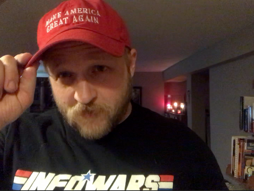 WATCH: Feminist Bro Triggered by MAGA Hat