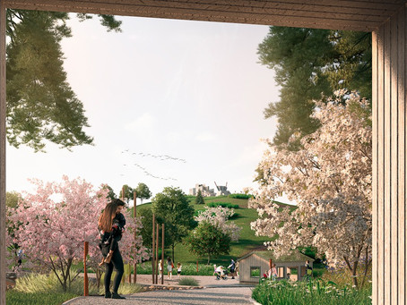 Nangijala byggs som lekplats i malmö
