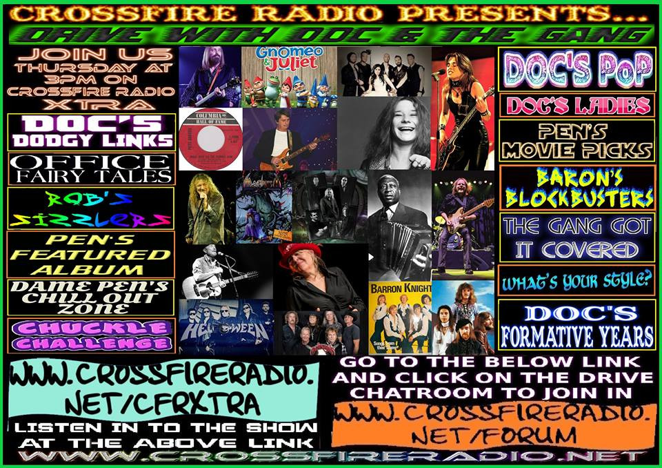 Poster For Drive 109, Crossfire Radio